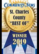 St. Charles County Best Of Winner 2019 Badge